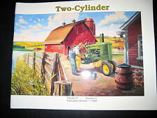 JOHN DEERE TWO CYLINDER CLUB MAGAZINE SEPT-OCT 1993 JD IN WW II * NM