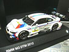 Bmw m3 e92 Coupe DTM 2012 Tomczyk #1 m performance industria bmw Minichamps 1:43