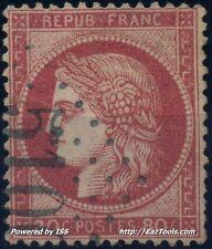 FRANCE CERES N° 57 OBLITERATION RARE GC 5100 TREBIZONDE TURQUIE