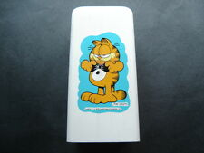 "Garfield White Plastic Cup Dispenser 7"" Tall"
