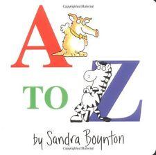 A to Z by Sandra Boynton