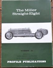 Profile Publications Number 81 The Miller Straight Eight