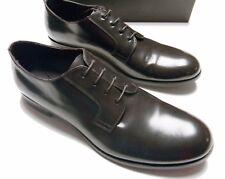 EMPORIO ARMANI Men's CLASSIC DERBY X4C182 Leather LACE-UP Brown DRESS SHOES - 10
