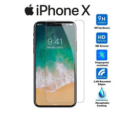 Protector de Pantalla Cristal Templado para iPhone X - Premium 9H 2.5D