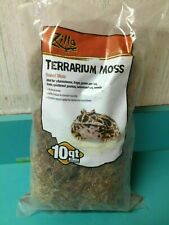 New listing Zilla Reptile Terrarium Bedding Substrate Moss, 10-Quart Free Shipping