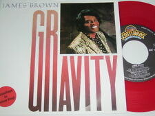 """7"""" - James Brown Gravity - First Press Red Rot Wax - 1986 # 5988"""