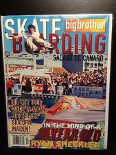 Alex Chalmers October 2000 Big Brother Skateboard Magazine