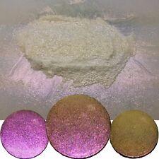 Liquid Diamonds Sunburst Sparkle Gold/Red Color Shift Nail Glitter Powder Dust!