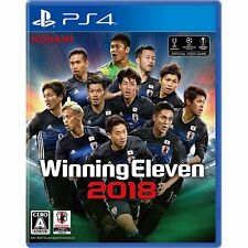 Konami PES Soccer Winning Eleven 2018 SONY PS4 PLAYSTATION 4 JAPANESE VERSION