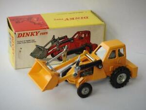 Dinky Jouets No.437 Emballé Muir Colline Taylor Woodrow 2WL Chargeur Orange