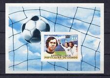s5310) CONGO 1978 MNH** World Cup Football-Campionato Mondiale Calcio S/S IMPERF