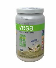 Vega Essentials Shake Vanilla 21.9 oz About 18 Servings, 20g Protein Exp 03/22+
