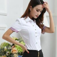 Shirts Casual Lady Stylish Shirt Floral T-Shirt Blouse Ladies Elegant Women's