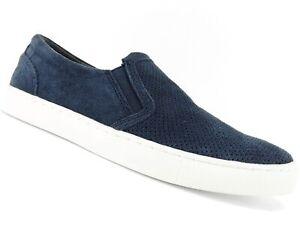 Bar III Men's Brant Slip-On Sneaker Navy Leather Size 13 M