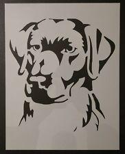 "Labrador Lab Golden Retriever Dog 8.5"" x 11"" Custom Stencil Fast Free Shipping"