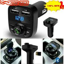 Wireless Bluetooth Handsfree Car FM Transmitter MP3 Dual Charger New Player P3D8