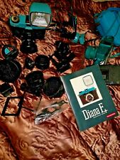 Lomo Diana F+ 35mm Film Camera w. 5 lenses, lomography, flash, spare F+, fisheye
