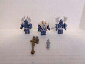 2009 Mega Bloks Dragons #9543 Xenoz Clerics Figure Building Set Near Complete