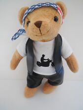 Fun Company Motorcycle Plush Biker Bear Teddy MP4766