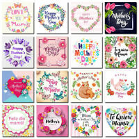 Love You Mum DIY Diamond Painting Embroidery Cross Stitch Kits 30x30cm Gift