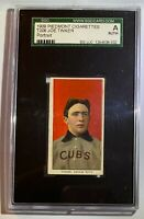 JOE TINKER (PORTRAIT) T206 PIEDMONT CIGARETTE CARD CHICAGO CUBS HOF
