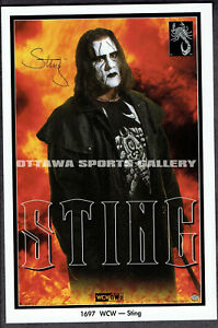"STING COSTACOS MINI POSTER (PROMO) - ""STING"""