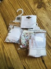Baby Scratch Mittens - 3 x Packs (8 in Total) - New With Tags