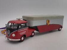 Schuco 09059 # Volkswagen VW T1b Porsche Renntransporter Continental Motors 1:18