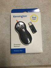 KENSINGTON PRESENTER REMOTE RED LASER WINDOWS/MAC - NEW