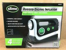 Slime Rugged Digital Inflator Model 40047 Inflate Car Tire  NEW S3