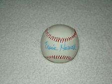 Ernie Harwell Hand Signed Baseball Autograph Detroit Tigers Signature MLB