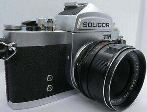Vintage Soligor TM SLR 35mm Film Camera, f2.8 50mm Lens