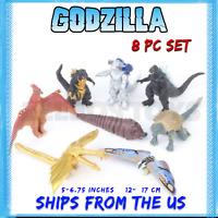 Godzilla Toys: 8 pcs: Rodan, Mechagodzilla, Ghidora, Anguirus, Mothra + more