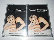 """Anne Murray """"30 Timeless Country Classics"""" 2 Cassettes (Time Life 2002 USA)"""