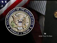 President Donald Trump Commemorative Lapel Pins! MAGA!!