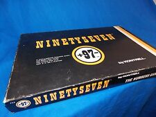 Vintage NinetySeven Board Numbers Game  Complete Kontrell 2 3 or 4 Players
