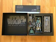 "Hasbro Star Wars 2013 SDCC Exclusive Black Series 6"" Boba Fett New"