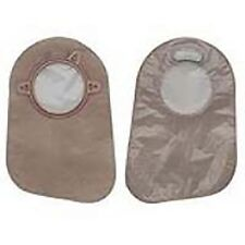 """Hollister 18363 New Image Two-Piece Closed Pouch Filter 9"""" Trans - Box of 60"""