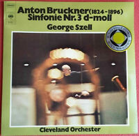 Anton Bruckner / Sinfonie Nr. 3 d-moll / George Szell Cleveland Orchester LP 74