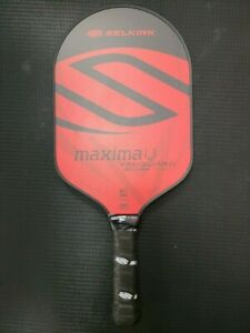 Selkirk VANGUARD HYBRID Maxima Lightweight 7.4oz Pickleball Paddle Crimson Black
