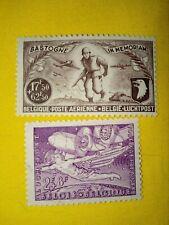 STAMPS - TIMBRE - POSTZEGELS - BELGIQUE - BELGIE 1946 NR PA12+PA14 **( ref 106)