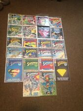 Death of Superman Comic Lot Of 22 - Preowned