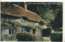 Dorset Postcard - Thomas Hardy's Birthplace - Higher Bockhampton - Ref ZZ4695