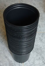 30pcs Viagrow 1/2 Gal. Plastic Nursery Plant Pots (30-Pack) Black Flower Pot