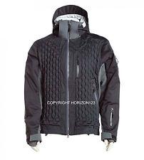 EXTREME NuDown Snow Ski Jacket-Snowboard-Polartec-PrimaLoft-RECCO-Black-LARGE
