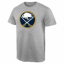 Buffalo Sabres Team Primary Logo T-Shirt - Ash