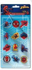 Marvel Spider-Man Radiergummi, Radierer, 12er Pack, Spiderman Eraser