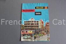E659 Catalogue Train maquette Ho FALLER 1966 8 pages AUTO moto sport 4000 4008