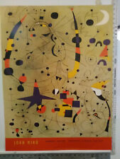 24x32 vintage Joan Miro ABSTRACT expo poster