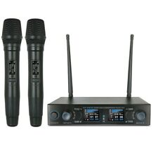 UHF Rechargeable Wireless Vocal Hand Microphone System for Shure SM58 Wireless